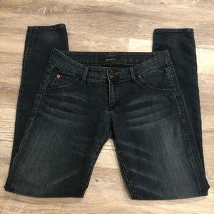 HUDSON Dark Wash Skinny Jeans Size 28